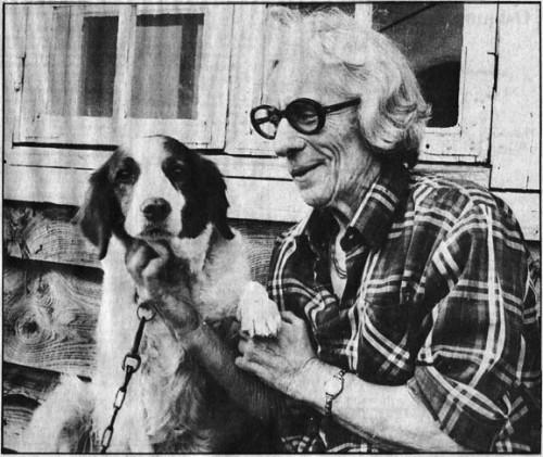 Annie Balchen i 1976