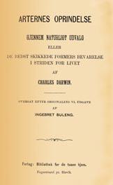 Darwin for første gong på norsk