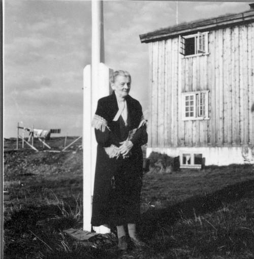 Kate Balchen på Veidarvon i 1986