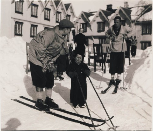 Påske på Tofte Høilidshotel midten av 1930-talet