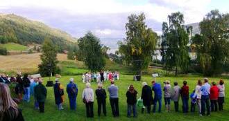 Opning Pilegrimssenteret Dale-Gudbrands Gard 10. september 2010