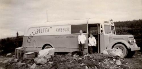 Fjellpilten fra Hundorp Landhandleri, Norges første og eneste rullerende butikk frå 1965.