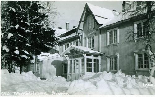 Tofte Høilidshotell brann i 1940