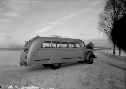 Bussen til Gålå Høifjellshotell
