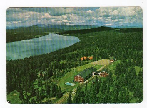 Golå Høifjellshotel luftfoto