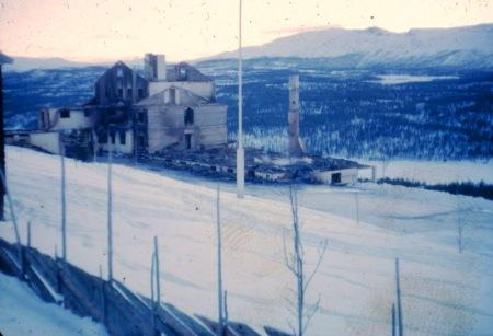 Dalseter etter brannen i 1963