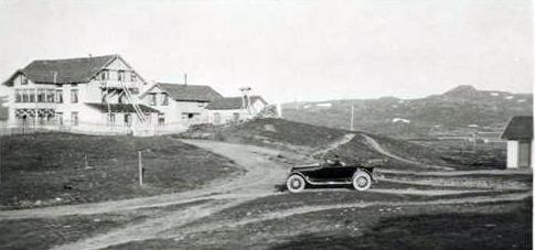 Fagerhøi seterhotel på 1930-talet