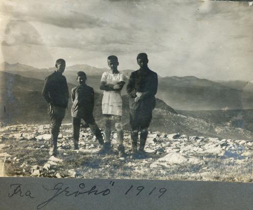 Frå Gråhø 1919 (Foto frå Per Ottesen)