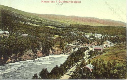 Harpefoss i 1912