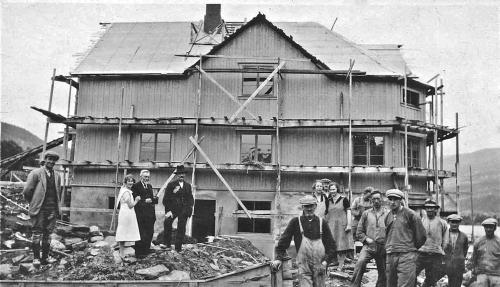 Bygging av Hundorp Landhandleri (Nustad)