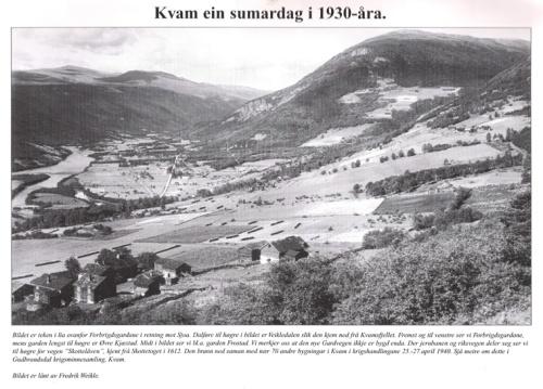 Kvam på 1930-talet