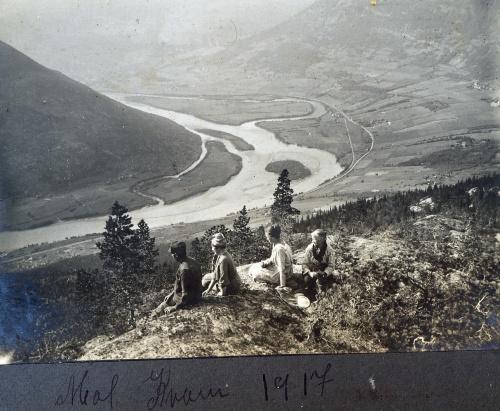 Mot Kvam 1917. Foto frå Per Ottesen