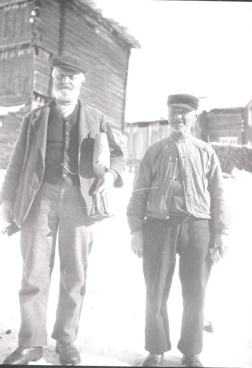 Ole P. Brandvold og Ole O. Hage.