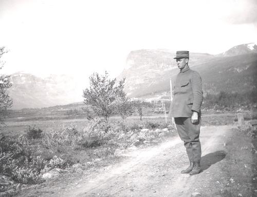 Sigurd Sande (Majoren) i Sikkilsdalen.