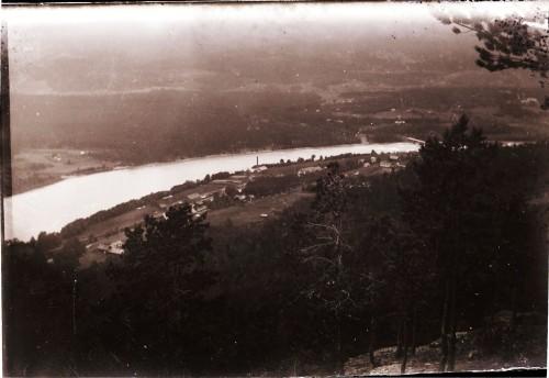Utsyn over Vinstra Meieri, frå Brakeberget 1913 (Foto frå Per Ottesen,N Stormyrbakken)