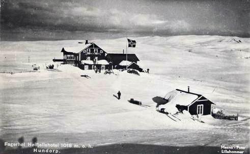 Fagerhøy påsken 1930