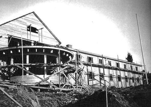 Gålå hotell under bygging (Foto: Pål Kluften)
