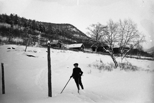 Gut på ski 1906