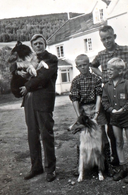 Hundorp med GKnudsen i 1960