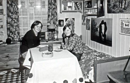 Internatliv i 1960-åra