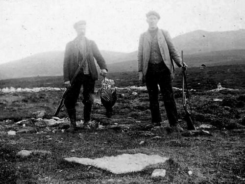Jegere Gråhø Gravdalen 1915