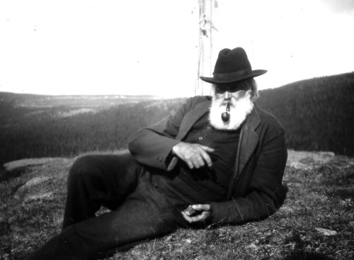 Johan Kjorstad 1917 (foto frå Per Ottesen)