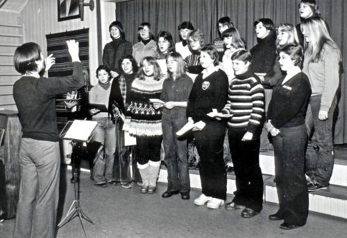 Koret Gudbrandsdal folkehøgskule på 1970-talet