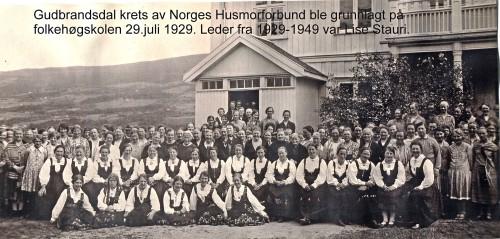 Norges husmorforbund 1929