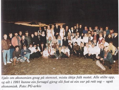 Oppsummering etter Per Gynt-stemnet 1990