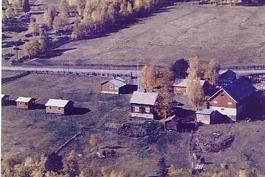 Søreng i Skåbu (Skåbu Hytter og Camping i dag). Livsverket til Magnhild og Laurits Sandbakken.