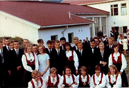 SF ungdomsskule 1963