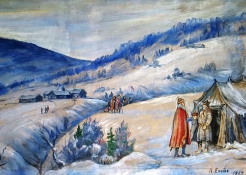 Møtet mellom Harald Hårfagre og Snøfrid