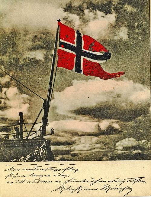 Flagg Iver Olstad
