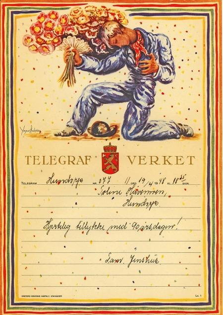 Nr. 164 Telegram