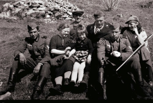 Tyske soldater 24 april 1940
