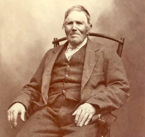 Erland Olsen (Byrberget) Tjæreboden, født 17 11 1821 død 05 03 1912.