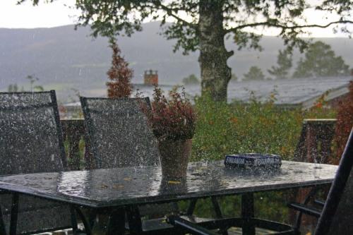 Regn i Sorperoa. Foto: Thogund