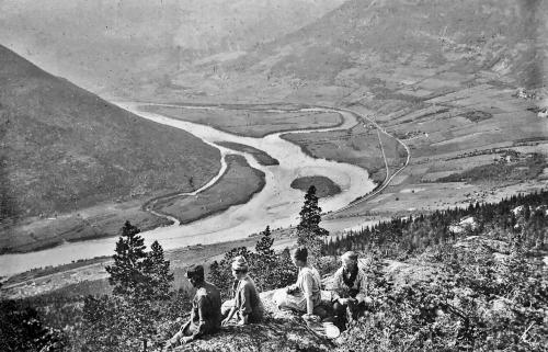 Mot Kvam 1917