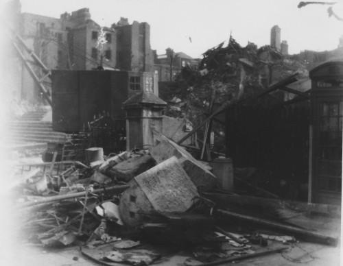 London, en ødelagt by.
