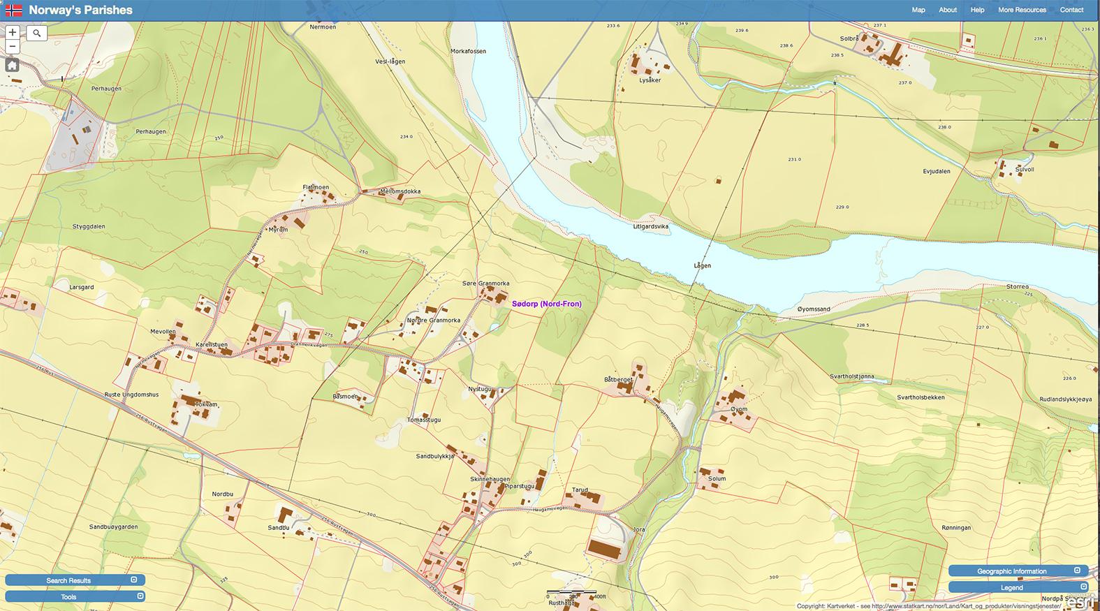 nord fron kart Fron historielag | Ei lokalhistorisk nettavis | Side 47 nord fron kart